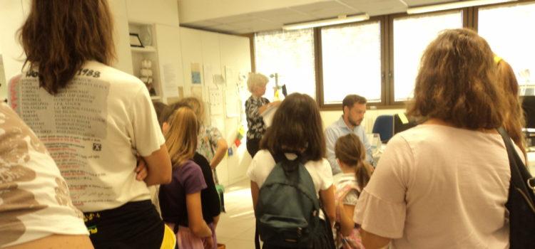 Visita al Mattino di Padova tra Homeschoolers