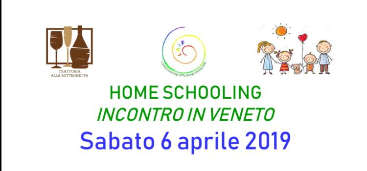 Incontro homeschooling + Assemblea Ordinaria dei Soci LAIF – Salzano (VE) 6 aprile 2019