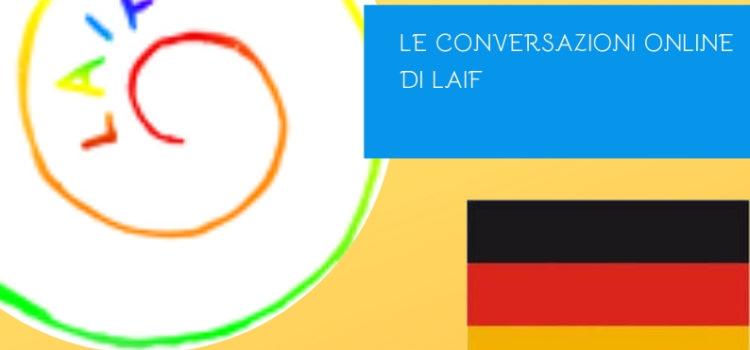 Conversazioni in tedesco – online 14 maggio 2019