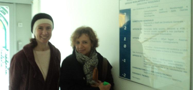 Mestre: l'Ufficio Scolastico Regionale per il Veneto riceve LAIF