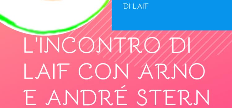 L'incontro di LAIF con Arno e André Stern – online 20 giugno 2019