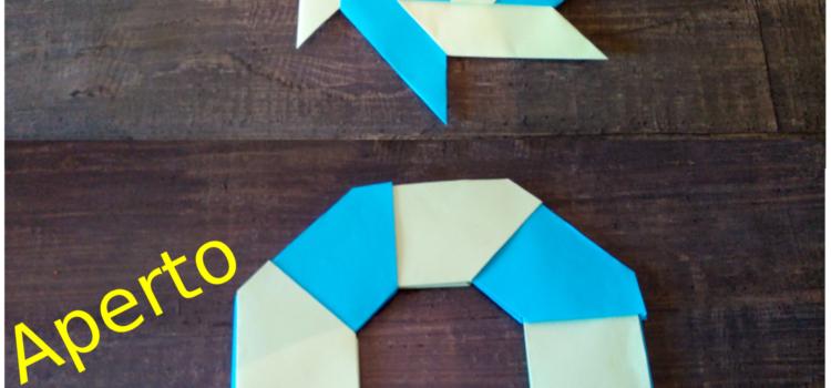 Origami Stella Ninja trasformabile