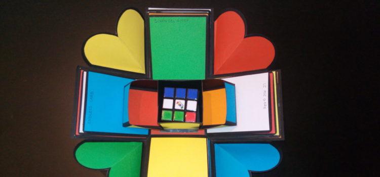 Explosion Box sul cubo di Rubik