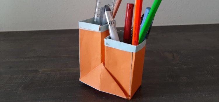 Portapenne Origami