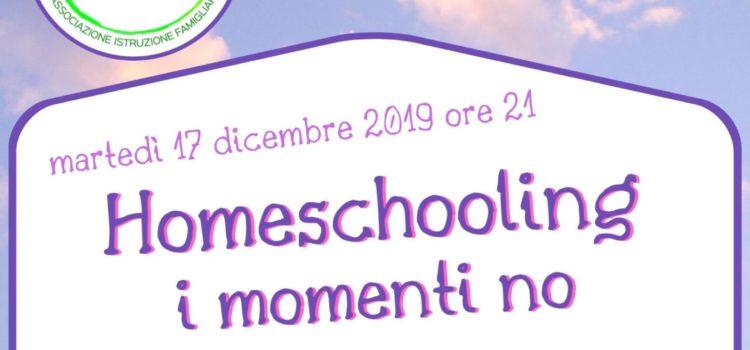 I momenti no – online 17 dicembre 2019