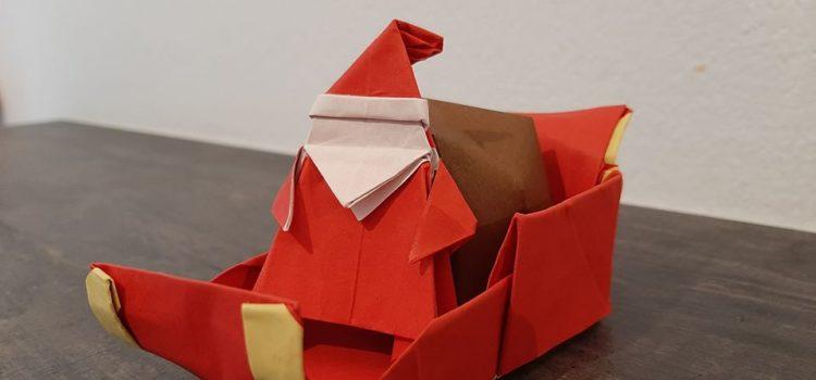 Origami Babbo Natale