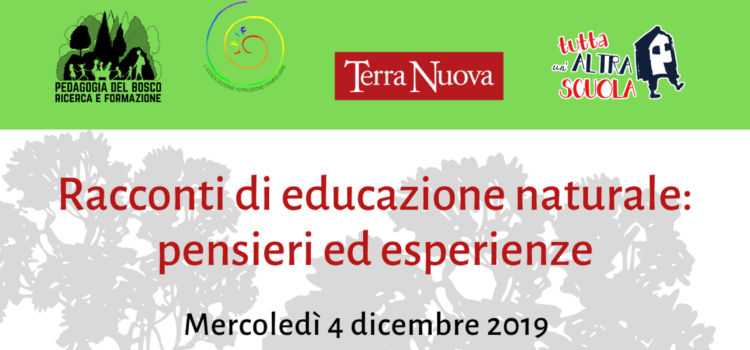 Racconti di educazione naturale: pensieri ed esperienze – Costa Masnaga (LC) 4 dicembre 2019