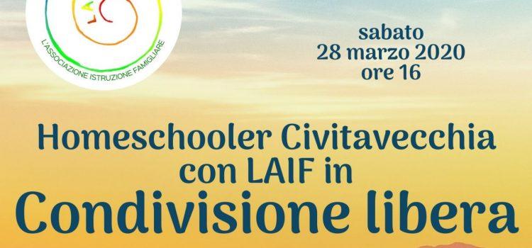 Homeschooler Civitavecchia / LAIF: condivisione online – 28 marzo 2020