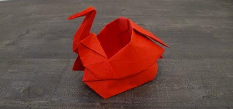 Scatola Gru origami