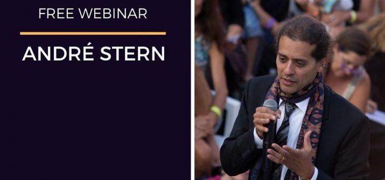 Webinar con André Stern – Online 26 marzo 2020