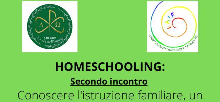 Homeschooling – online 12 giugno 2020