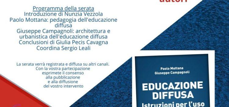 Educazione diffusa: presentazione del libro con Paolo Mottana e Giuseppe Campagnoli
