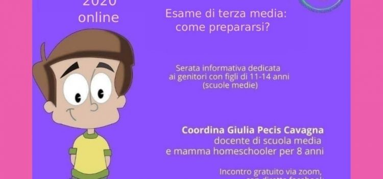 Come prepararsi all'esame di terza media? – online 24 novembre 2020